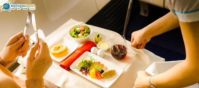 5 Drool worthy In-flight Meals To Take You on a Culinary Journey
