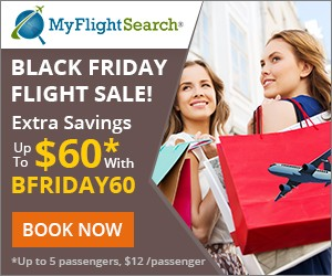 Save with our Black Friday Flight Sale! Grab extra $60 discount** with Coupon code BFRIDAY60 Valid 10/30 until 11/29