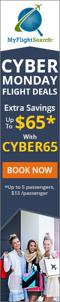 Cyber Monday Travel Sale. Save up to $22.00** with promo code – CYBERM22