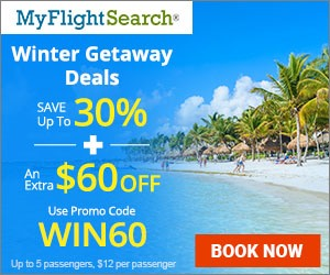 Jet Set for a Dream Winter Getaway. Book Now & Save up to $40** with promo code - WIN40